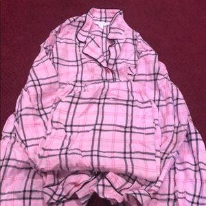 Charter Club long sleeve pajama set